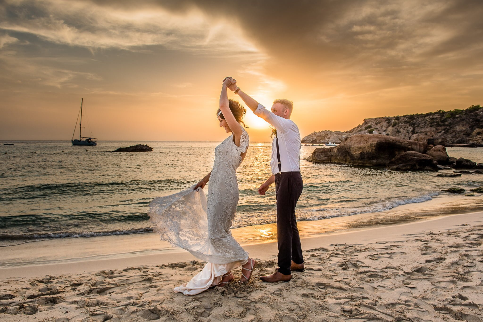 Ibiza Wedding Restaurante Casmila Cala Tarida